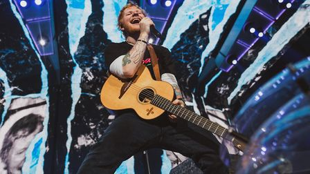 Ed Sheeran played four sell-out shows at Ipswich's Chantry Park in August 2019 Picture: Zakary Walt