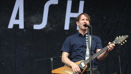 Tim Wheeler, lead singer from rock band Ash who are to play at LeeStock 2020. Picture: ISABEL INFANT