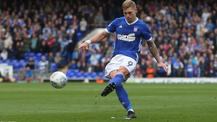 Former Town striker Martyn Waghorn has been open about his battle with depression. Picture: FOCUS IM