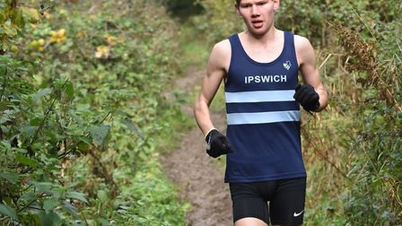 James Pettersson, who was 39th in the junior men's under-20 race at Nottingham. Picture: PHILIP DONL