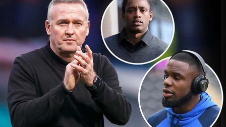 Ipswich Town manager Paul Lambert is short of strikers but free agents Nile Ranger and Victor Aniche