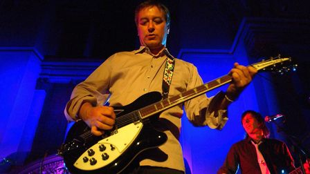 Peter Buck will perform at the John Peel Centre in Stowmarket with collaborist Luke Haines, formerly