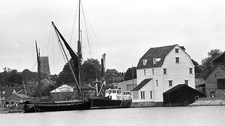 The Tide Mill at Woodbridge in 1984 Picture: ARCHANT