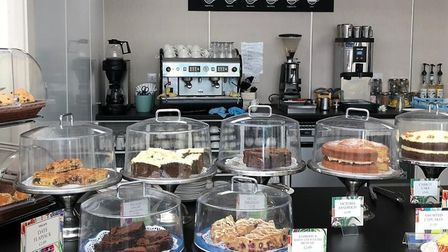 The newly expanded and renovated cafe at Perrywood, Sudbury is now open Picture: Perrywood