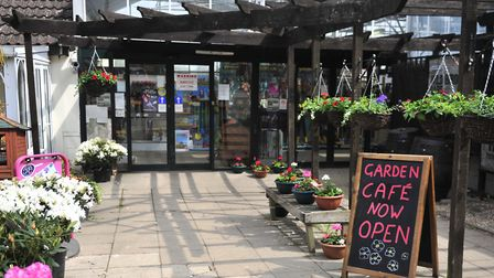 Roots and Shoots Nursery, Badley has a family-friendly cafe Picture: Lucy Taylor