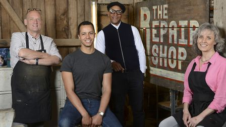 The Repair Shop, presented by Jay Blades, is returning for its fifth Series. Picture: Ricochet Ltd/S