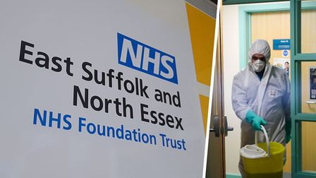 2,100 fewer patients attended A&E at Ipswich and Colchester Hospitals, run by the East Suffolk and N