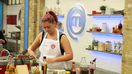 Hannah Gregory from Bury St Edmunds competing in the MasterChef quarter final episode on March 12. P