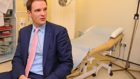 Dr Dan Poulter is going to spend more time in hospital wards than in Westminster over the next few m