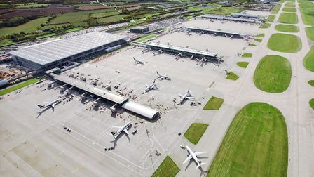 Charlie Cornish, chief executive officer at MAG, has warned of the lay-offs Picture: LONDON STANSTED