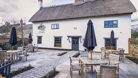 The Three Blackbirds at Woodditton has reopened Picture: Chestnut