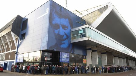 Ipswich Town's Planet Blue store remains open at the moment