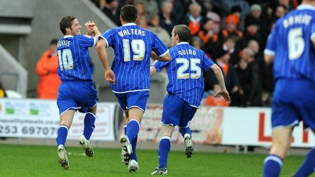David Norris admits his infamous celebrates goal celebration at Blackpool was 'stupid and naive'. Ph