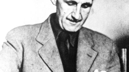 George Orwell whose real name was Eric Blair lived in Southwold for many years and may have met up w