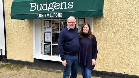 Simon Barrett and his daughter Francesca Rogers from Budgens in Long Melford are now taking delivery