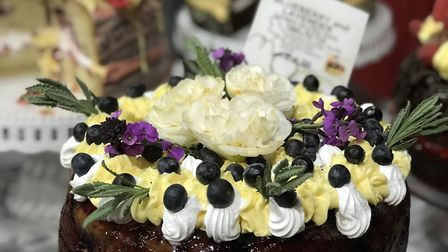 Too good to eat? The cakes and pastries by Vegan Sweet Tooth London proved popular at the Essex Vega