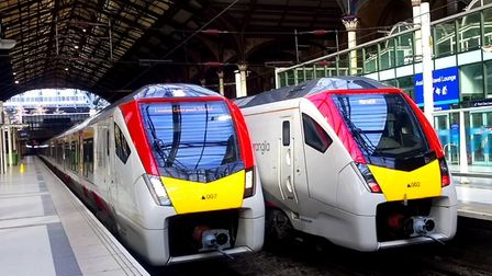 The number of passengers on trains fell by 20% last week alone. Picture; STEVE W