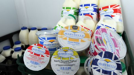 Foulgers Dairy, based in Grundisburgh, is helping the elderly and vulnerable people with delivering