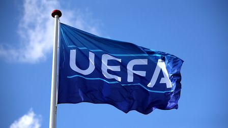 UEFA have released a statement regarding an agreed cut-off point for the 2019/20 season. Photo: PA