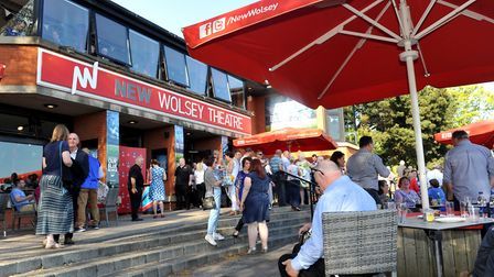 The New Wolsey which has cancelled two productions because of the Coronavirus outbreak. Picture by