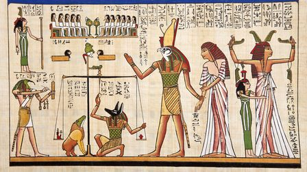 One course looks at art and life in Ancient Egypt