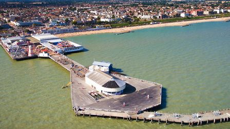 Clacton Pier from the air Picture: TENDRING DISTRICT COUNCIL