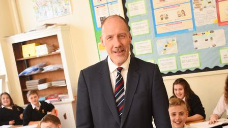 Geoff Barton has offered his thoughts on the coming weeks on school closures Picture: GREGG BROWN