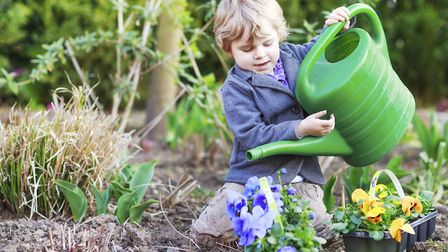 It's not all about studying - children should get out in the garden too Picture: PA Photo/thinkstoc