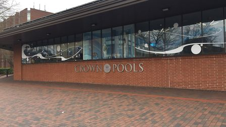 Crown Pools in Ipswich has shut. Picture: EMILY TOWNSEND