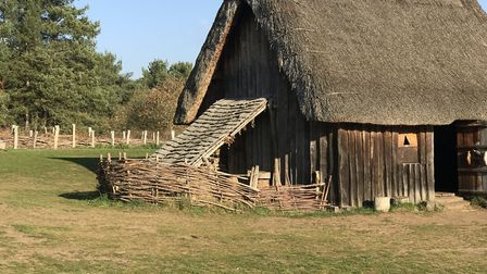 West Stow Anglo-Saxon Village has been closed by West Suffolk Council. Picture: VICTORIA PERTUSA