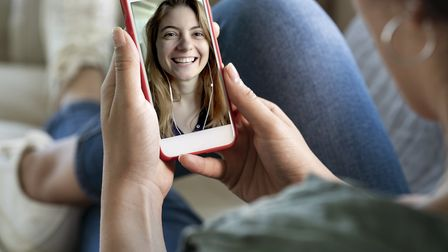Use tech to stay in touch with your colleagues. Picture: Getty Images/iStockphoto/seb_ra