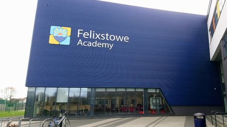 Fellixstowe Academy is one of the schools which is partially closed today. Picture: KATY SANDALLS
