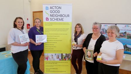 Acton committee members of the Good Neighbour Scheme Picture: MICHAEL STEWARD