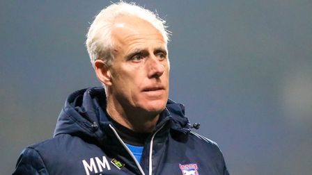 Mick McCarthy.... were some Town fans right to hound him out Photo: STEVE WALLER