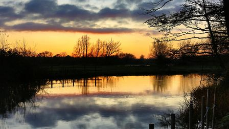 A series of pictures taken at Flatford late in the afternoon Picture: MICK WEBB