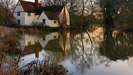 Flatford in the winter Picture: MICK WEBB