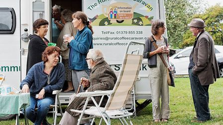 The Rural Coffee Caravan in Suffolk Picture: Simon Lee Photography/Suffolk Community Foundation