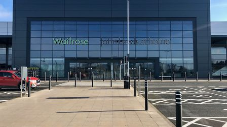 John Lewis in Ipswich will close their doors temporarily after business on Monday - Waitrose shops w