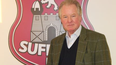David Sheepshanks, who has been elected as the new President of Suffolk FA. Photo: CONTRIBUTED