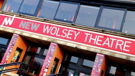 The exterior of the New Wolsey Theatre Photo Carl Lamb