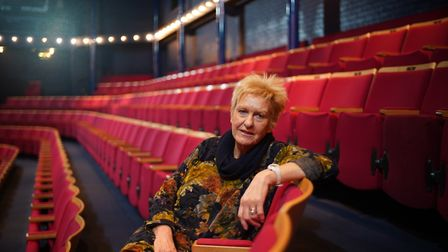 Sarah Holmes, chief executive of the New Wolsey Theatre Photo: Mike Kwasniak