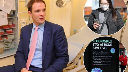Dr Dan Poulter, MP for Central Suffolk and north Ipswich, is also an NHS psychiatrist battling coron
