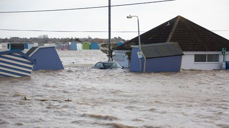 Brightlingsea was devastated by the tidal surges after Storm Ciara. Picture: SIMON RICH