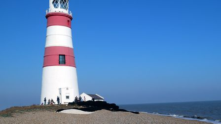 Orfordness Lighthouse Picture: MICK WEBB