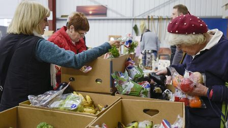 Foodbanks in Suffolk are calling for more support as the coronavirus crisis sees more families needi