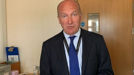 Nick Hulme, chief executive of the East Suffolk and North Essex NHS Foundation Trust Picture: ARCHAN