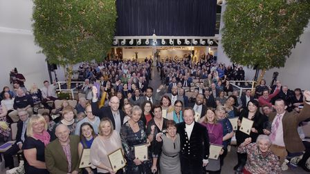 Winners at last year's awards Picture: SUFFOLK COMMUNITY FOUNDATION/SLYVAINE POITAU PHOTOGRAPHY