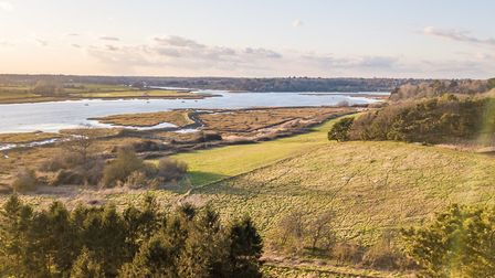 The Apple House overlooks the Deben Estuary Picture: Jim Tanfield/Inscope Images