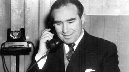 Alf Ramsey occupies the managerial chair at Ispwich Town, where he has changed the fortunes of the E