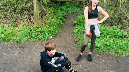 A lunchtime PE lesson Picture: Charlotte Smith-Jarvis